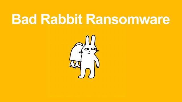 BadRabbit Ransomeware, una nuova minaccia